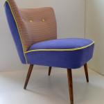 Fotel klubowy, włoskie materiały, 1500zł