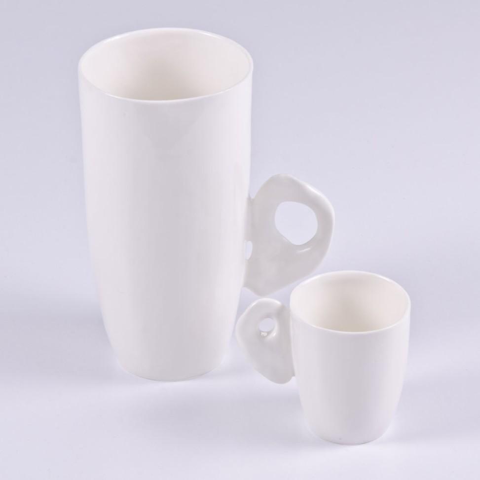 Kubek espresso biały, 35zł _ Kubek biały wysoki 65zł
