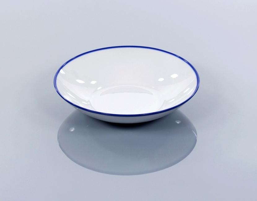BLUE LINE komplet 6 talerzy głębokich 21,5 cm, porcelana, kobalt, Modus Design, 215zł