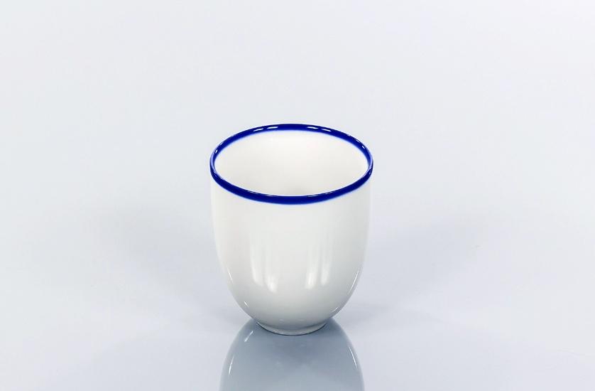 BLUE LINE kubek 0,30l, porcelana, kobalt, Modus Design, 29zł