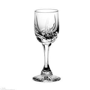 Kieliszek do likieru Allium, kryształ, Huta Julia, 157zł  kpl 6szt