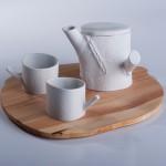 NATURA zestaw do herbaty, porcelana, Modus Design, 390zł