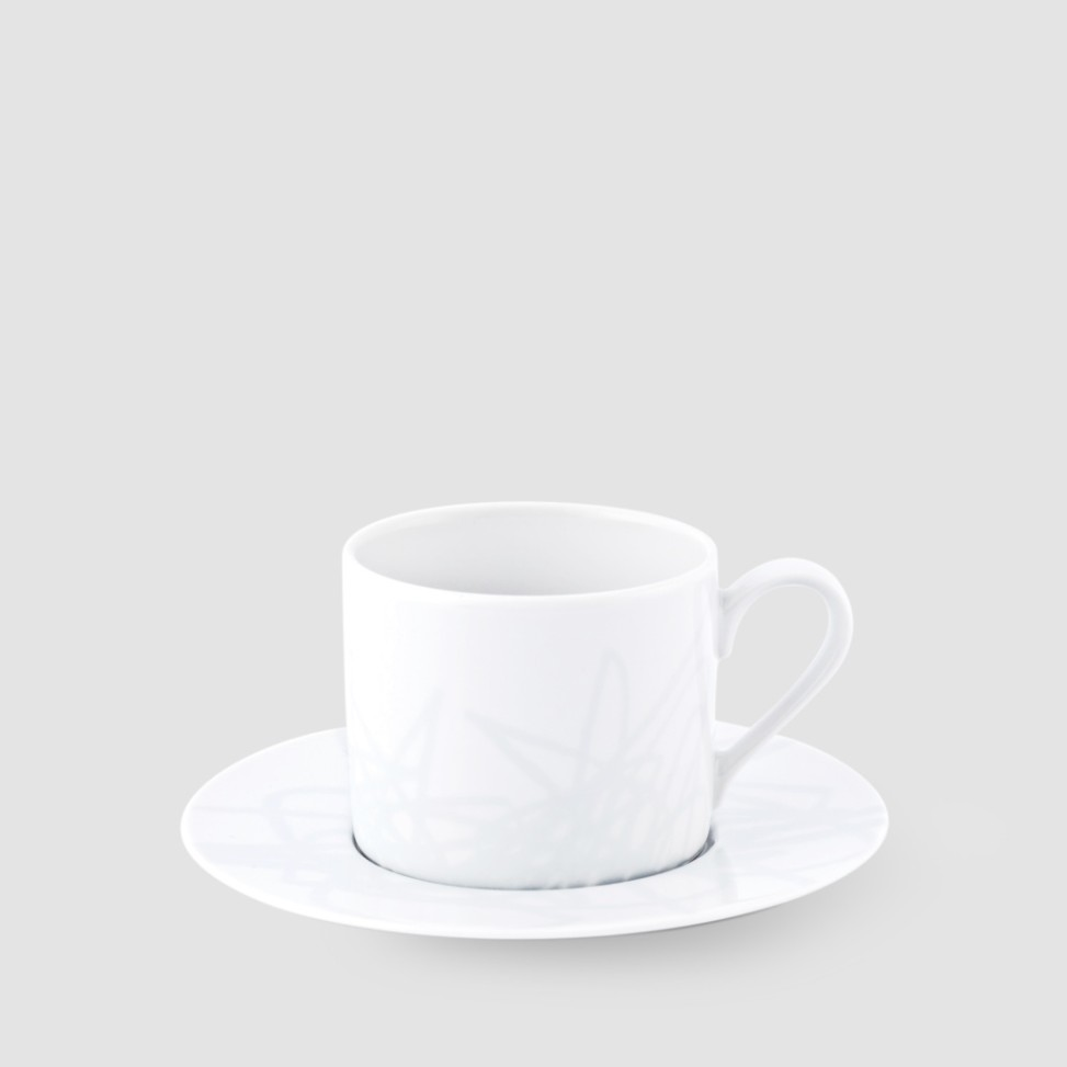 Kristoff, porcelana,Drawme grey filiżanka 220ml, 64zł