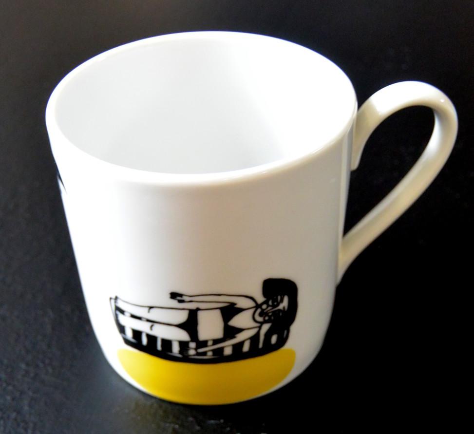 Kubek ceramiczny, sprzedany