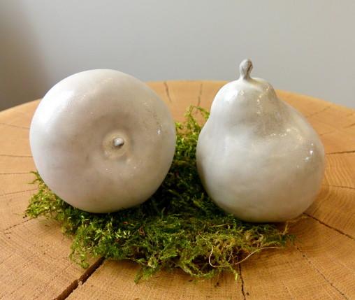 Ceramiczne owoce