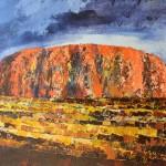 Ayers Rock, 90x120cm, 3300zł