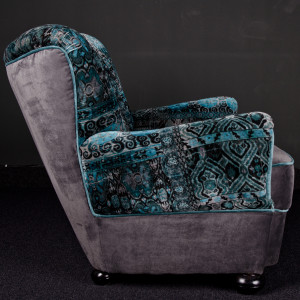 Widok bok fotela
