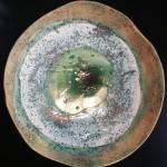 Talerz ceramiczny ok 34cm